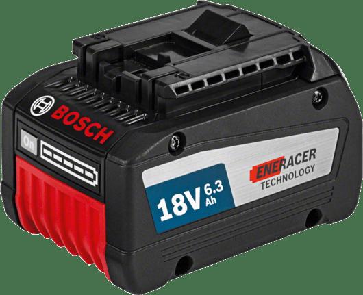 dengan 1 x baterai EneRacer 6,3 Ah