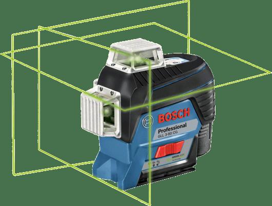 dalam kotak alat dengan 4 x baterai (AA), set aksesori